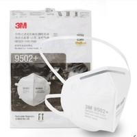 3M 9502+ KN95 头戴式自吸过滤式口罩 50个 *3件