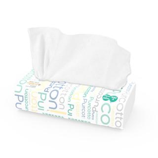 Purcotton 全棉时代 居家系列 棉柔巾 100抽*6包(20*20cm)