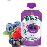 Fruit Me Up 果樂士 經典系列 果泥 2段 蘋果藍莓草莓黑加侖 113g*18支