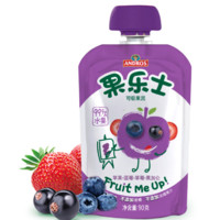 Fruit Me Up 果樂士 經典系列 果泥 2段 蘋果藍莓草莓黑加侖 90g*9支