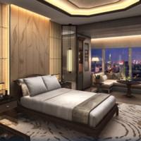 南京丽思卡尔顿酒店 豪华大床房 1晚 无早餐