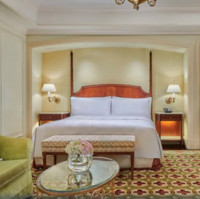 广州富力丽思卡尔顿酒店 豪华城景大床客房 1晚 无早餐