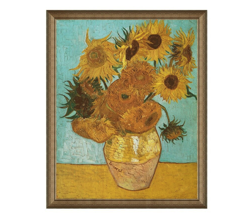 雅昌 文森特·威廉·梵高《向日葵》 92*114cm 装饰画 油画布