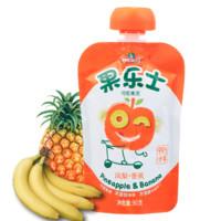 Fruit Me Up 果樂士 經典系列 果泥 2段 鳳梨香蕉味 90g