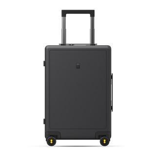 LEVEL8 地平线8号 行李箱旅行箱登机箱20英寸德国科思创PC箱体男女拉杆箱 灰色(锤科出品)