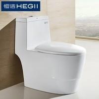 HEGII 恒洁卫浴 HC01182PT 家用虹吸式防溅马桶 305mm