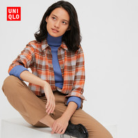 UNIQLO 优衣库 432917 女式法兰绒格子衬衫