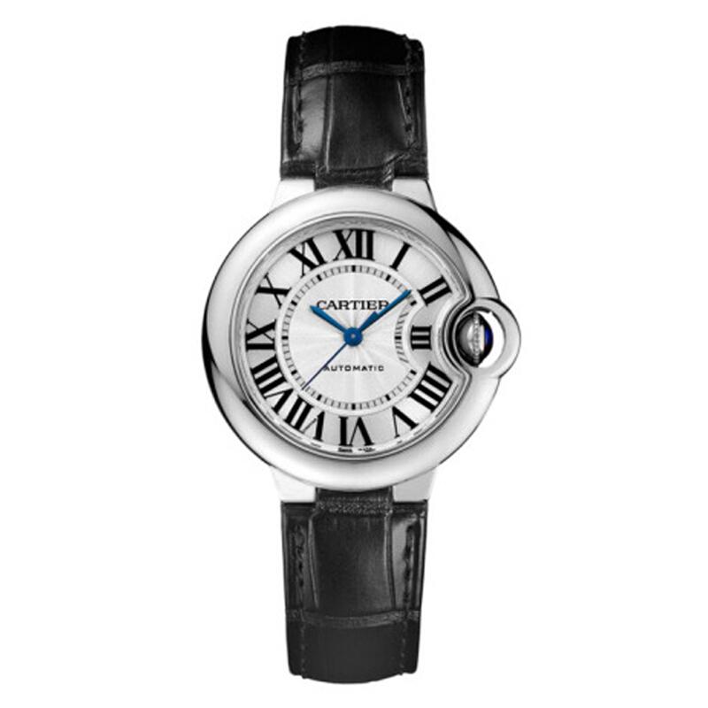 Cartier 卡地亚 BALLON BLEU DE CARTIER腕表系列 33毫米自动上链腕表 W6920085