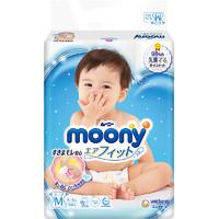 moony 畅透微风系列 婴儿纸尿裤 M 64片