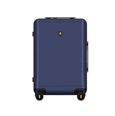 LEVEL8 地平线8号 CURVE系列双杆万向轮TSA海关锁曲面屏拉链款拉杆箱LA-1606-06T00 星际蓝 20英寸