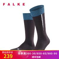 四季新款FALKE德国进口Body Code秋冬保暖透气休闲中筒袜男13392