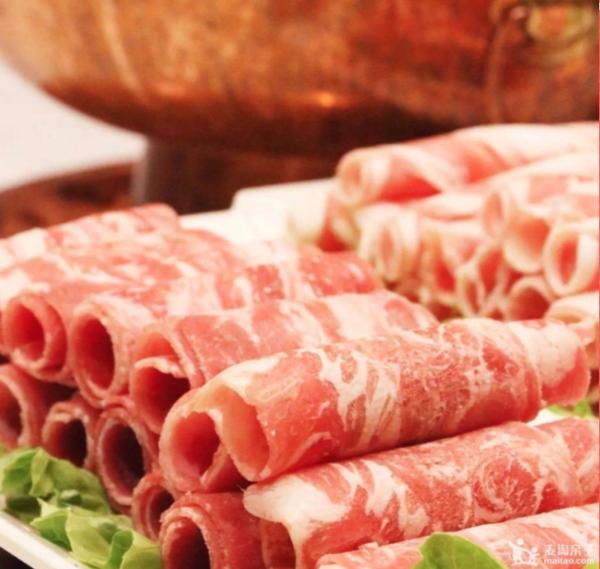 12店通用!足足2斤羊蝎子!还有肥牛+羊肉卷!上海复茂羊蝎子铜锅