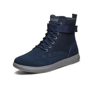 SKECHERS 斯凯奇 男士中筒马丁靴 55480 海军蓝色 41