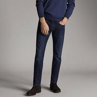 Massimo Dutti  00042142405 石洗刷纹牛仔裤