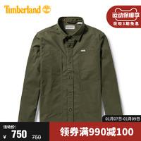 Timberland添柏嵐男裝新款時尚休閑工裝襯衫式外套|A2F3R(M、A2F3RA58/綠色)