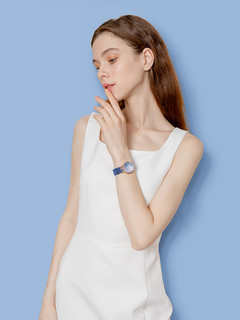 FILA斐乐手表简约珍珠贝母小表盘气质时尚小众防水石英女腕表697