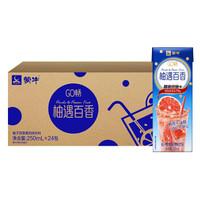 MENGNIU 蒙牛 GO畅 柚子百香果 风味饮料 250ml*24包