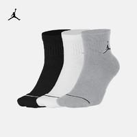 Jordan官方JORDAN EVERYDAY MAX ANKLES 運動襪(3 雙)SX5544(S、100白/白/白/(黑))