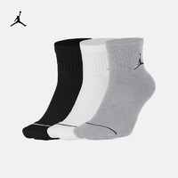 Jordan官方JORDAN EVERYDAY MAX ANKLES 運動襪(3 雙)SX5544(M、100白/白/白/(黑))