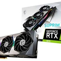 MSI 微星 GeForce RTX 3070 8GB   Ampere Architecture OC 显卡(RTX 3070 Suprim X 8G)