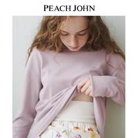 PEACH JOHN/蜜桃派  暖暖全棉护腹家居服套装(S、花朵印花)
