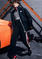 adidas 阿迪达斯 三叶草 GN3439 王嘉尔同款 男款运动卫衣