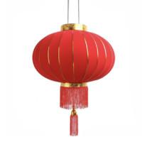 咪曦 燈籠春節大紅燈籠 2只 (82*43cm)