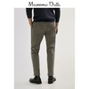 Massimo Dutti 00020020802 男裝修身款微彈直筒褲