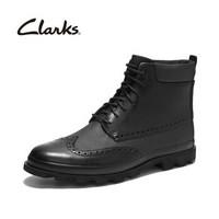 clarks 其乐 Pilott Trip 261355537 男士布洛克短靴 *2件