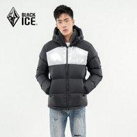 BLACK ICE 黑冰 F8566 男款加厚连帽羽绒服