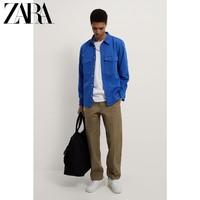 限尺码:ZARA 09632320710 男士直筒休闲裤