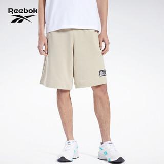 Reebok锐步运动经典Short BEP男女短裤五分裤 GP4273_卡其色 A/XL