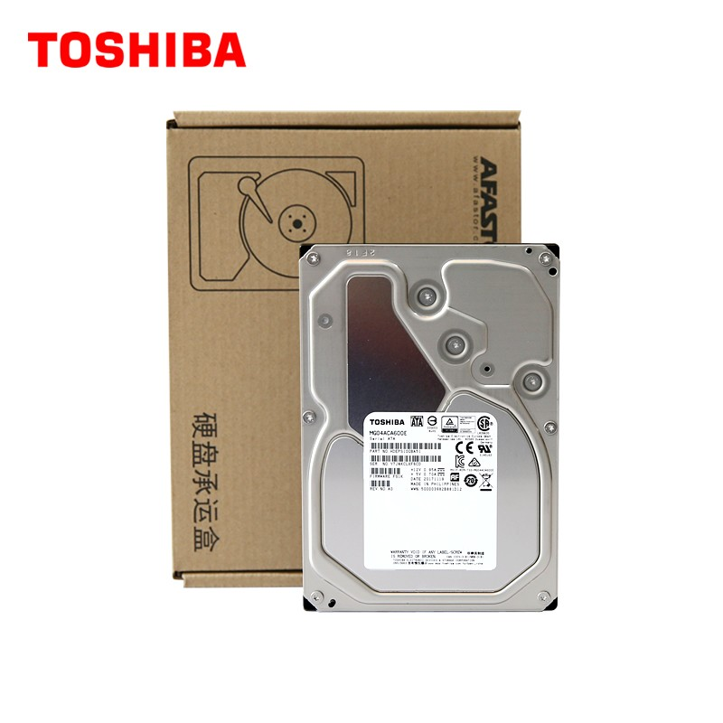 TOSHIBA 东芝 企业级硬盘 MG06ACA800E 256MB 7200RPM 8TB