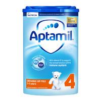黑卡会员:Aptamil 爱他美 经典版 儿童奶粉 英版 4段 800g 易乐罐
