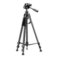 相機三腳架單反便攜攝影攝像微單專業三角架適用于佳能尼康富士戶外通用拍照手機自拍vlog兩用直播支架補光燈