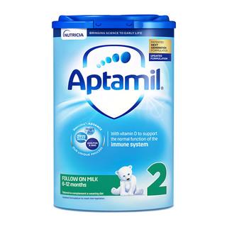 Aptamil 爱他美 经典版 较大婴儿奶粉 英版 2段 800g 易乐罐