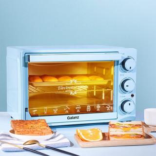 格兰仕电烤箱 家用多功能烘焙小型烤箱 32L大容量 机械式旋钮操控 K32-L01