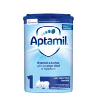 Aptamil 爱他美 经典版 婴儿奶粉 英国版 1段 800g 易乐罐