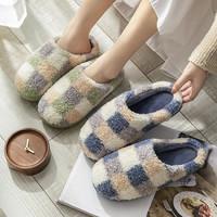 浅风 家居室内包跟棉拖鞋