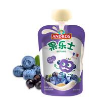 Fruit Me Up 果樂士 經典系列 果泥 2段 黑加侖藍莓 90g