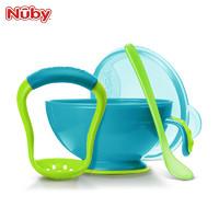 Nuby 努比 婴儿研磨碗 辅食工具+研磨器