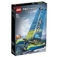 20日0点、黑卡会员:LEGO 乐高 Technic科技系列 42105 漂浮双体船