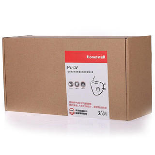 Honeywell 霍尼韦尔 H950V KN95有呼吸阀口罩 25只 白色