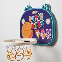 伶可家族 室内篮球框架 卡通版(2款可选)