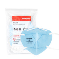 Honeywell 霍尼韦尔 H930系列 D7002 防霾口罩 10只/包 蓝色