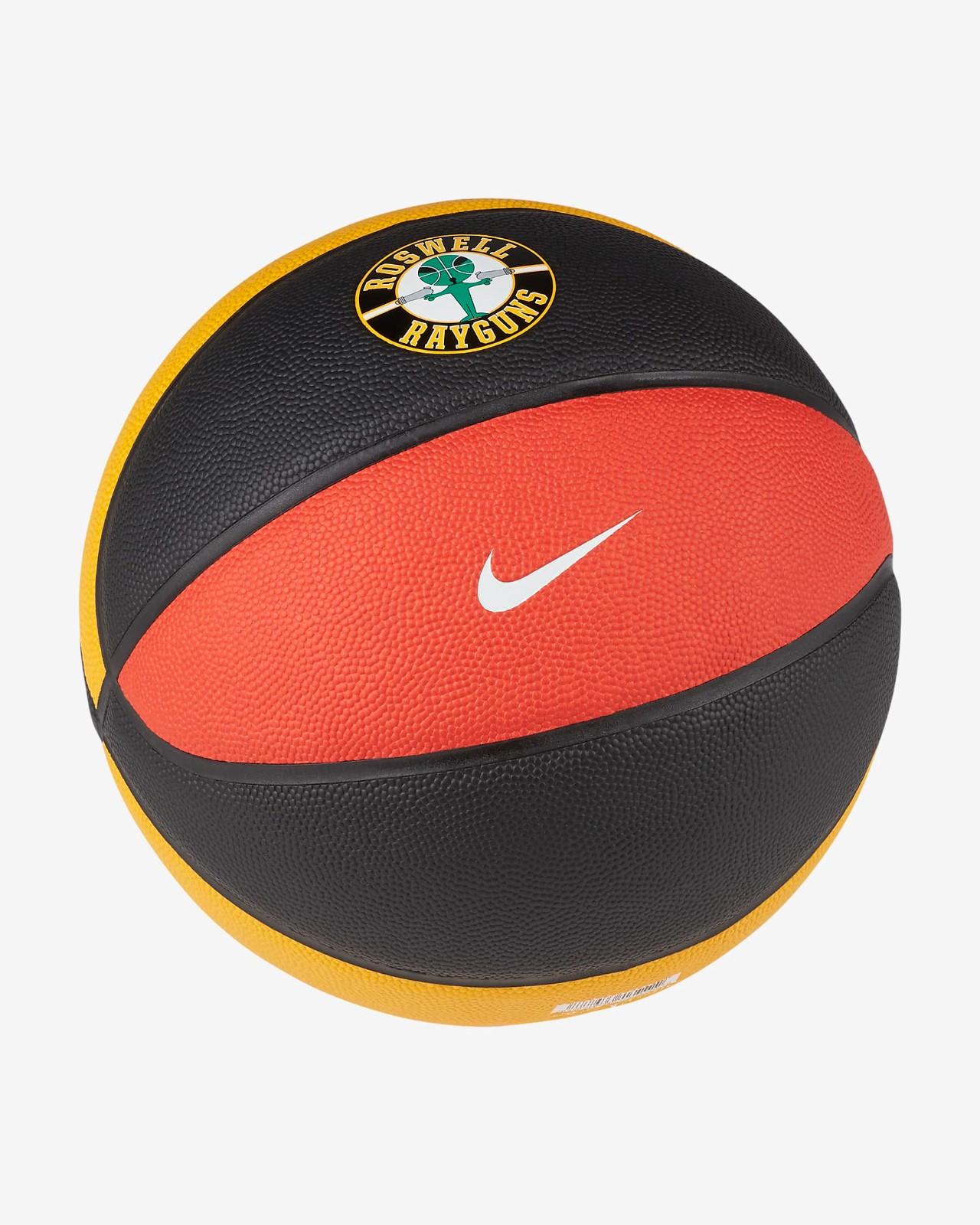 NIKE 耐克 Rayguns 篮球 DD3421-057 黑橙 7号/标准