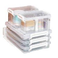 IRIS 爱丽思 收纳盒12.3*8.2*7cm 2层