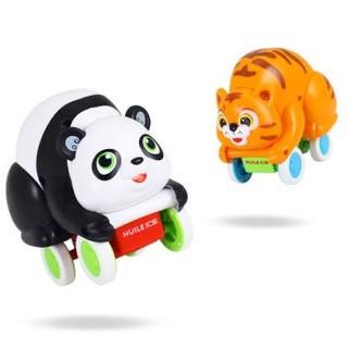 汇乐玩具(HUILE TOYS)翻滚萌宠老虎/熊猫 新生婴幼儿童玩具1-3岁 男女孩宝宝早教益智玩具 609B熊猫 *3件
