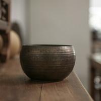 素以 原矿铁釉手工小建水 茶具