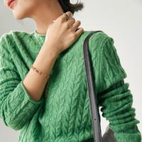 金丽杉 LS02212Y354 女士羊毛衫